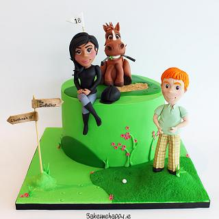 Cliodhna's birthday cake