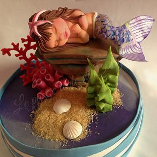 At the bottom of the sea ... - Cake by Titty