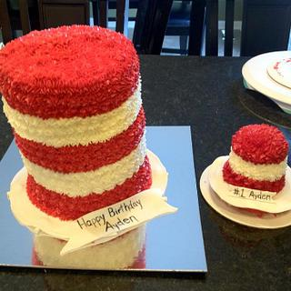 Can in the Hat - Cake by Dawn Henderson