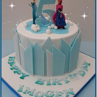 Another Frozen Cake..... - Cake by Gill W
