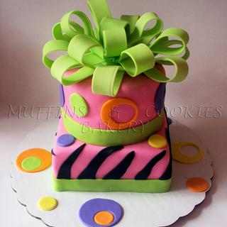 B-day presents :) - Cake by Muffins & Cookies Bakery