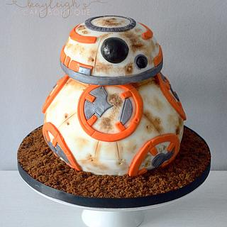 Bb8  - Cake by Kayleigh's cake boutique