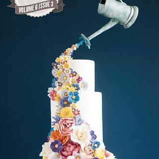 Colorful Elegance Cake Central Magazine