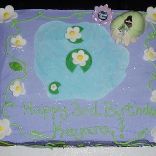 Princess Tiana - Cake by Tamara Bemiss