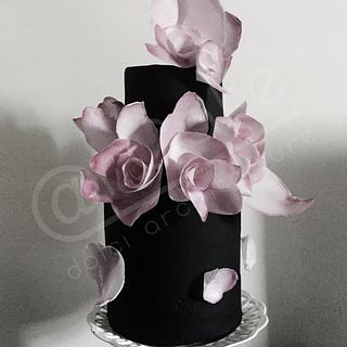 Rose GBV - Cake by maria antonietta motta - arcake -
