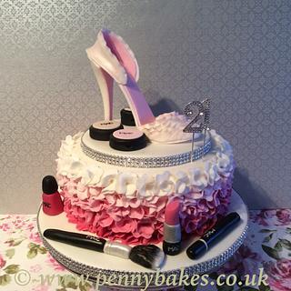 Stiletto  cake.