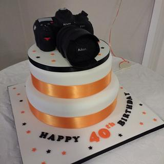 Camera cake - Cake by Catherine