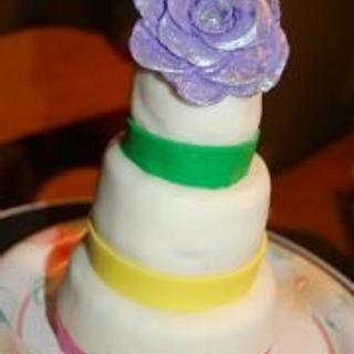 Mini Tiered Cake