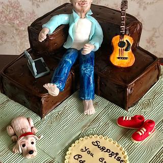 Carved sofa cake !  - Cake by Somoshree Khandekar