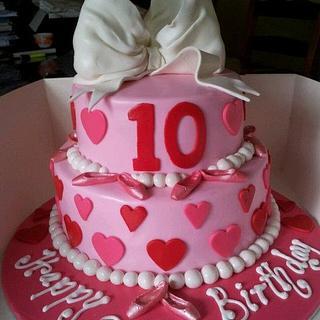 Fantastic Girly Girl 22 Cakes Cakesdecor Personalised Birthday Cards Xaembasilily Jamesorg