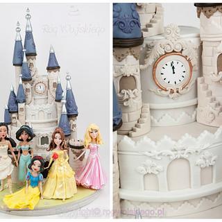 Princess castle cake / tort zamek z księżniczkami