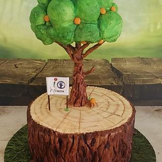Growth - Cake by Tal Zohar