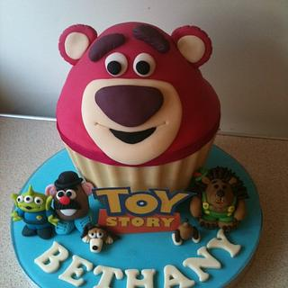 Toy Story 3 giant cupcake