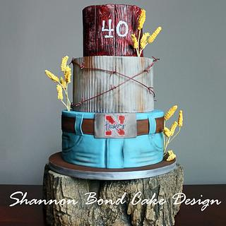 Country Strong Birthday Cake