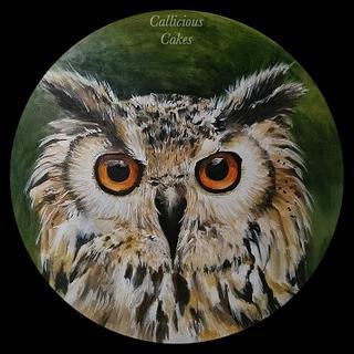 Eagle Owl Plaque