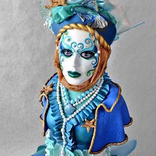 Carnival Cakers Collaboration - Cake by Jenny Kennedy Jenny's Haute Cakes