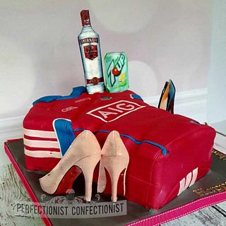 Natalie - Dublin GAA Jersey 40th Birthday Cake