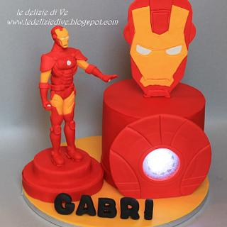 Iron man cake  - Cake by le delizie di ve