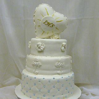 Communion cake - Cake by Wanda