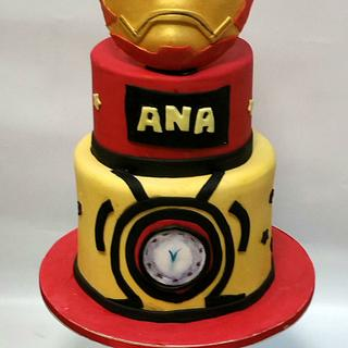 IRON MAN CAKE - Cake by MELBISES