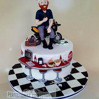 Mark - 40th Birthday Cake