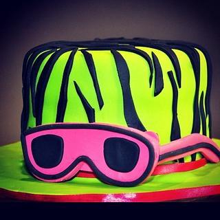 Green Zebra Cake - Cake by The Sugarstudios