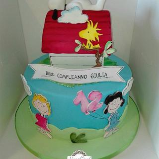 Snoopy cake - Cake by manuela scala