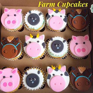 Cupcakes de Animales en Medellín