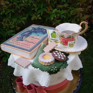 Torta ora del tè - Tea time cake - Cake by Dolcidea creazioni