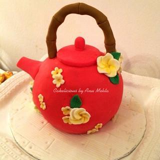 Simple Tea pot cake