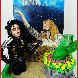 Edward Scissorhands Christmas at the movies collaboration