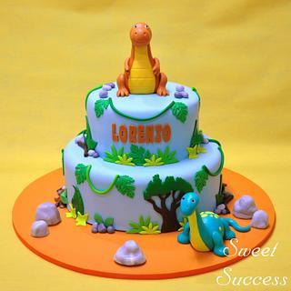 Dinosaur Cake - Cake by Sweet Success
