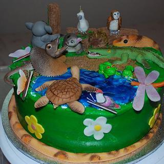 Australian Wildlife Cake