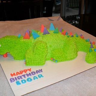 4D Dinosaur - Cake by Dawn Henderson