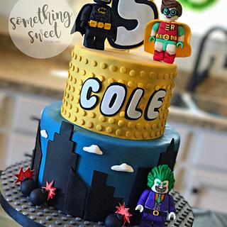 LEGO Batman Cake - Cake by Something Sweet