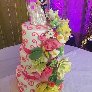 Wedding cascade !!!