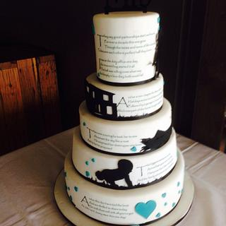 Wedding Cake - Story Cake