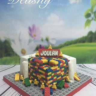 My first Lego cake