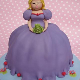 Princess & the Frog charity cake - Cake by Deborah Cubbon (the4manxies)