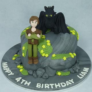 How to Train your Dragon Birthday Cake - Cake by Cakes by Vivienne