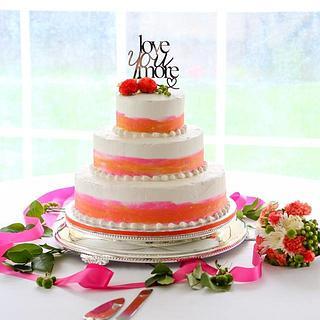 Kami's Watercolor Cake