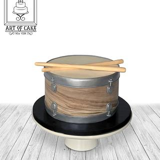 Drum Cake - Cake by Akademia Tortu - Magda Kubiś