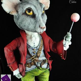 Doormouse - Twisted Sugar Artists - Cake by Calli Creations