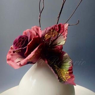 Marbled sugar Rose