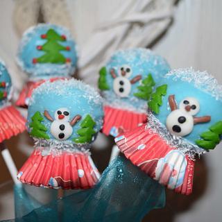 Tutorial Snowglobe Cackepops