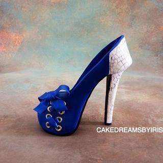 Beautiful sugar shoe