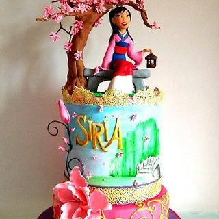 Mulan cake
