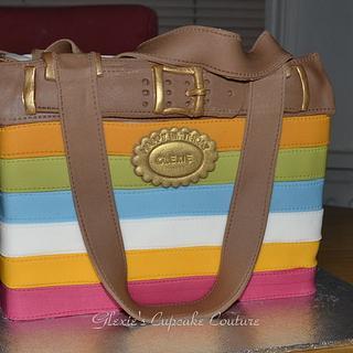 handbag cake - Cake by glenda