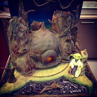 Master Yoda - Cake by Bryson Perkins