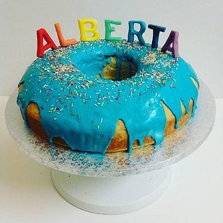 doughnuts cake